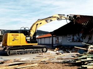 Zemní a demoliční práce v Berouně