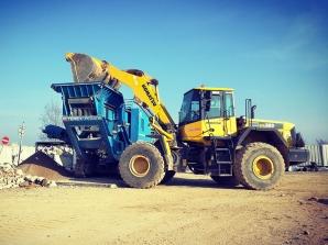 Drcení stavebního odpadu