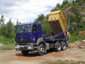 Skládka odpadů v Berouně